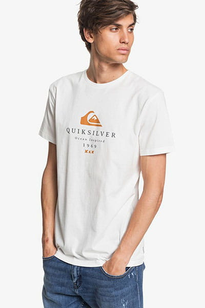 Футболка QUIKSILVER Firstfiress M Tees Snow White