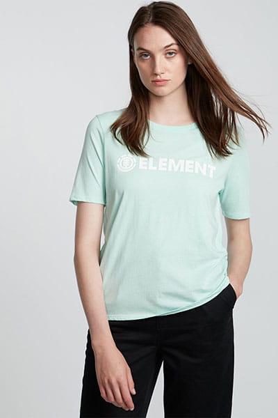 Футболка женская Element Logo Cr Brook Green