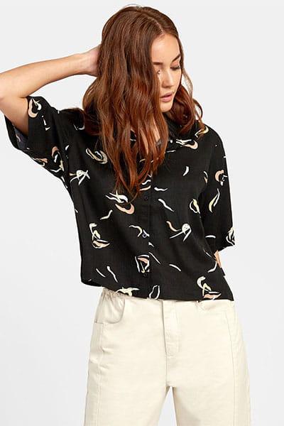 Рубашка женская Rvca Foreign Black
