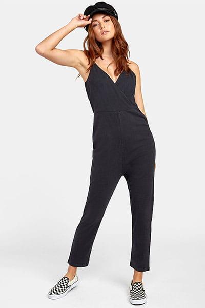 Комбинезон женский Rvca Citra Jumpsuit Black
