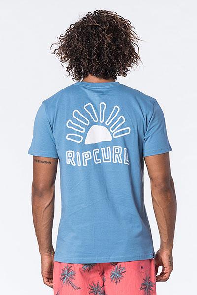 Футболка Rip Curl Golden Road Denim Blue