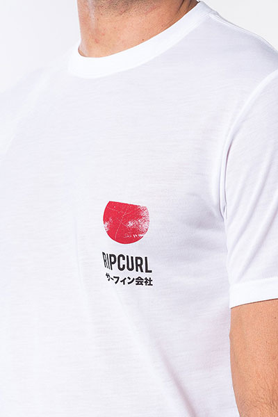 Футболка Rip Curl Ramen Vpc Optical White