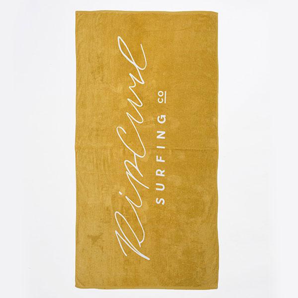 Полотенце женское Rip Curl Standard Towel Origin Gold