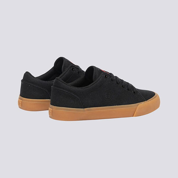 Кеды детские Element Creeton Black Gum Red