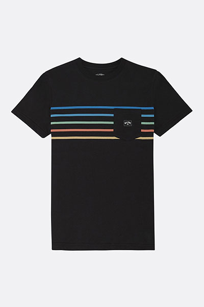 Футболка детская Billabong Riot Spinner Ss Tee Black