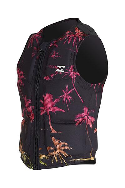 Гидрожилет Billabong Palms Wake Vest Black Neon