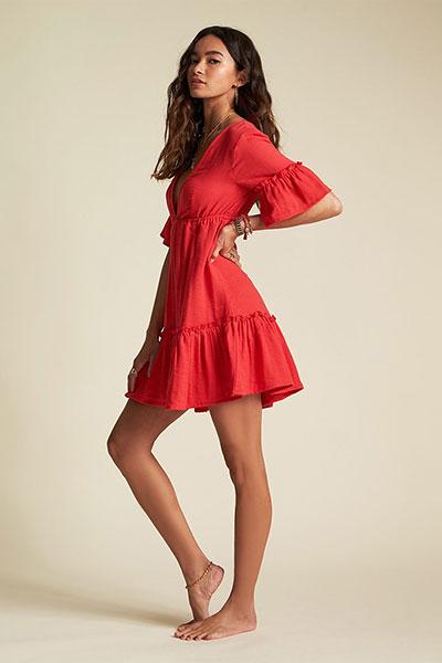 Платье женское Billabong Lovers Wish Rio Red