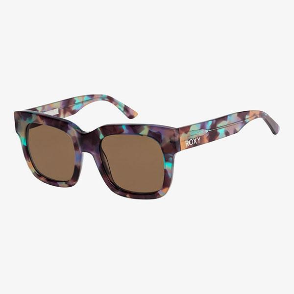 Очки женские Roxy Солнцезащитные Nagara J Shiny Tortoise Rainb--43