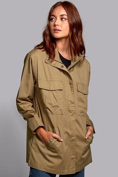 Куртка женская Rvca Mountain Jacket Aloe--50