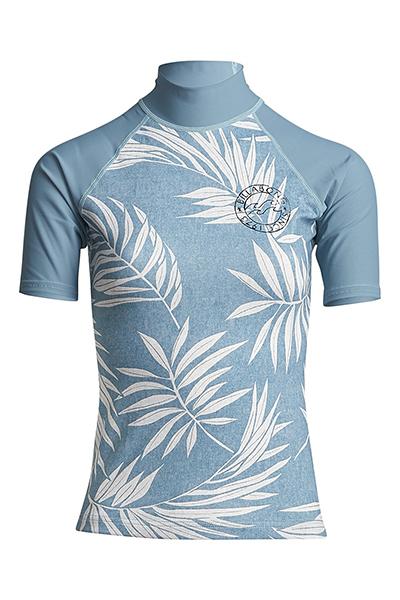 Футболка женская Billabong Для Плавания Surf Capsule Ss Sea Blue