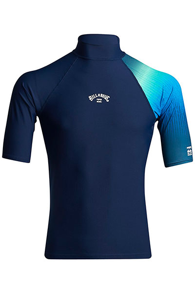 Футболка Billabong Футболка Для Плавания Contrast Printed Ss Navy