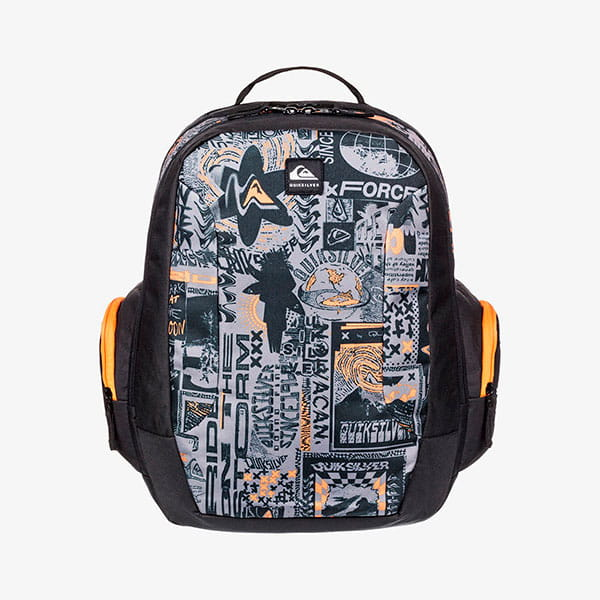 Рюкзак детский QUIKSILVER Schoolieyth B Bkpk Nkp0 Flame Orange