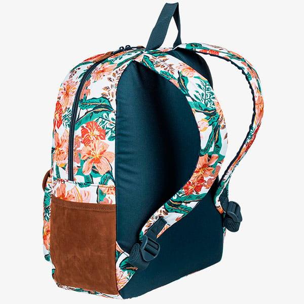 Рюкзак женский Roxy Carribean J Bkpk Wbb8 Bright White Mahe Rg