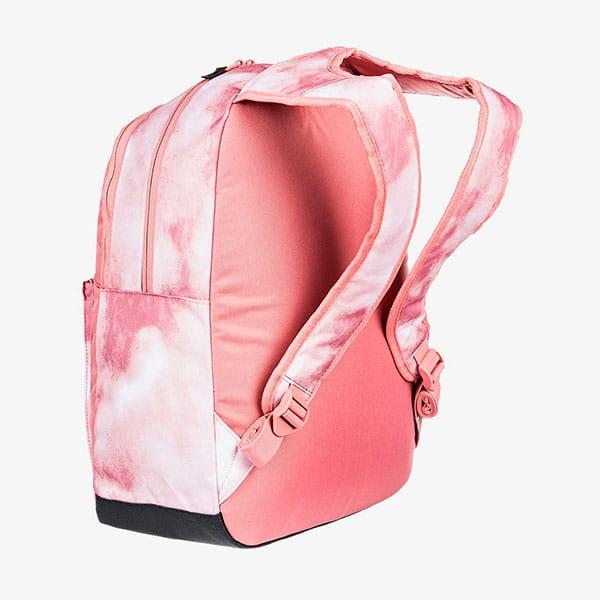 Рюкзак женский Roxy Here You Are F J Bkpk Mfc6 Silver Pink Imagine