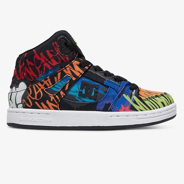 Кроссовки высокие детские DC Shoes Pure Ht Tx Se Multi