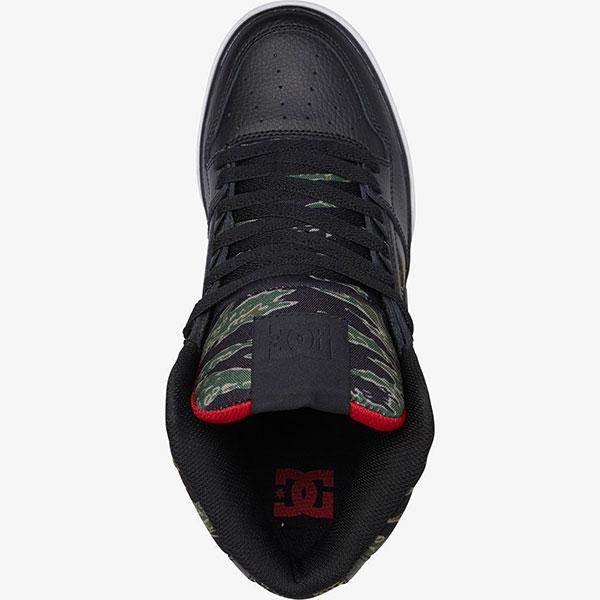 Кроссовки высокие DC Shoes Pure Ht M Black/Camo Print