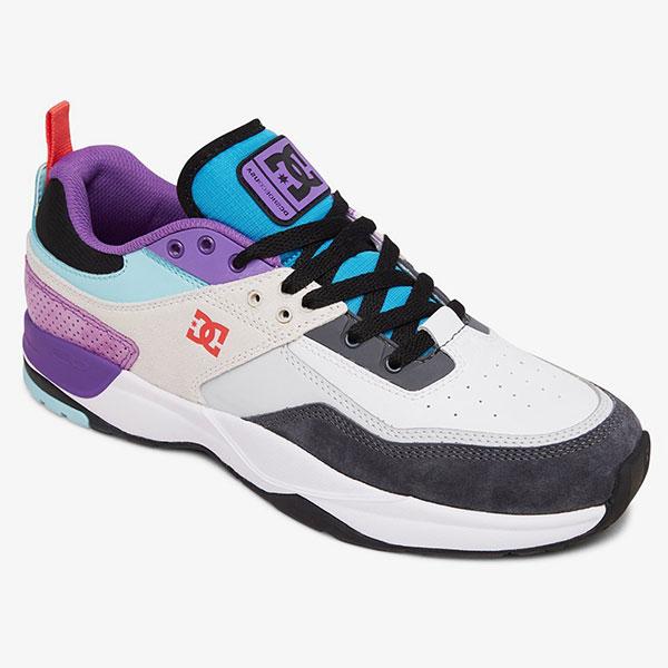Кроссовки DC Shoes E.tribeka White/Armor/Turquois