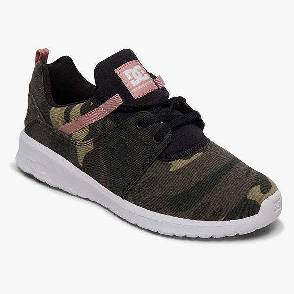 Кроссовки женские DC Shoes Heathrow Camo Black