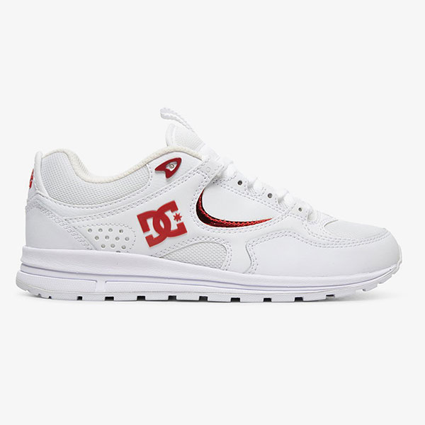 Кроссовки женские DC Shoes Kalis Lite White/White/True Red