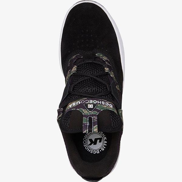 Кроссовки DC Shoes Kalis Se Black Camo