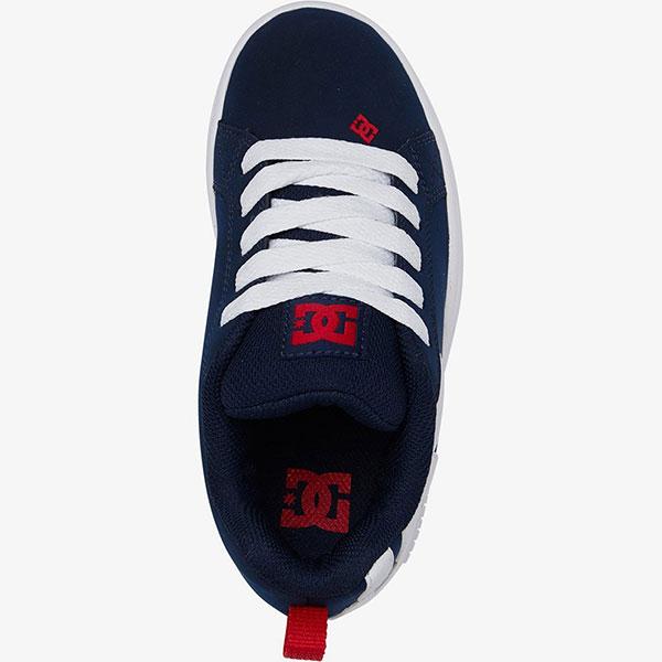 Кроссовки детские DC Shoes Court Graffik Navy/Gum