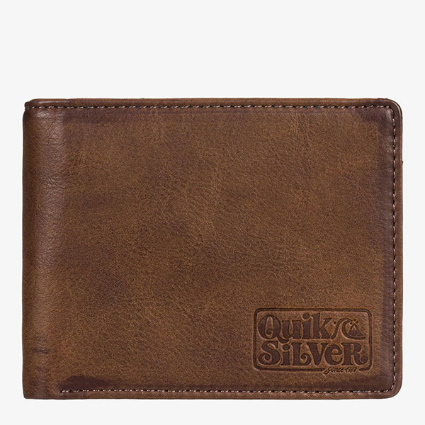 Кошелек QUIKSILVER Slim Folder Chocolate Brown