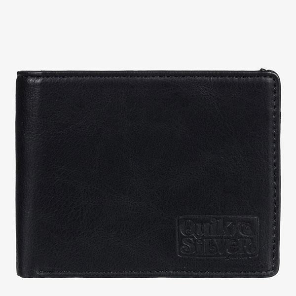 Кошелек QUIKSILVER Slim Folder Black