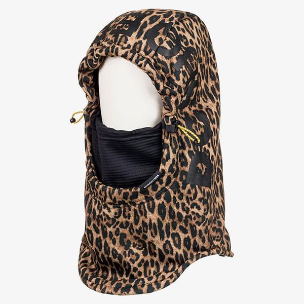 Балаклава женская DC Shoes Hoodaclava Wmns Leopard Fade