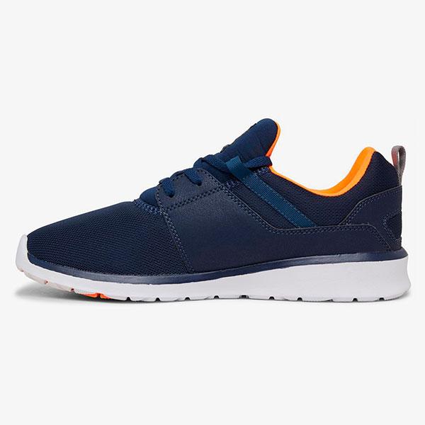 Кроссовки DC Shoes Heathrow Navy/Orange