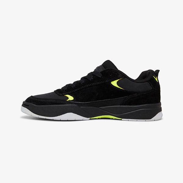 Кроссовки DC Shoes Penza Black/Black/Yellow