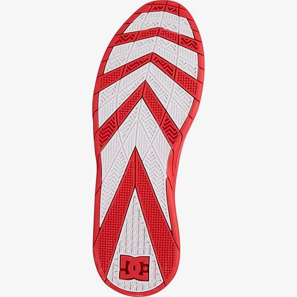 Кроссовки DC Shoes Williams Slim White/Grey/Red