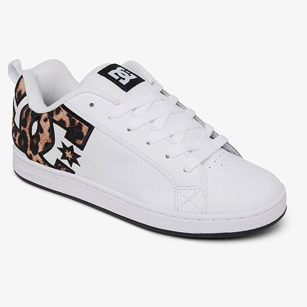 Кеды DC Shoes Court Graffik Leopard Print