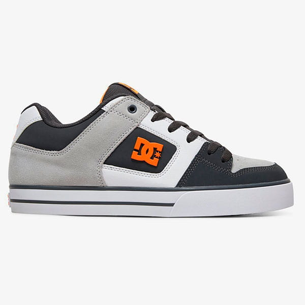 Кеды DC Shoes Pure Go0 Dark Grey/Orange