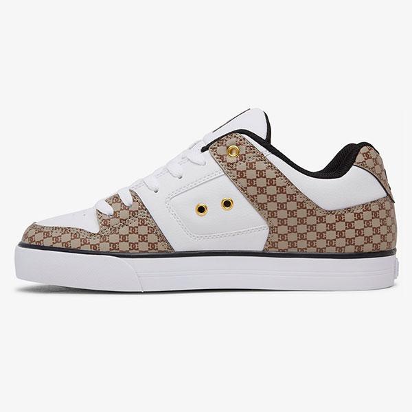 Кеды DC Shoes Pure Se Black/White/Brown