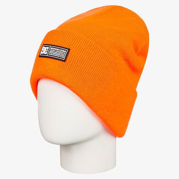 Шапка детская DC Shoes Labelythbeanie Shocking Orange
