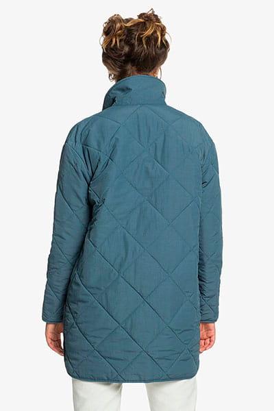 Куртка женская QUIKSILVER Ogmilitarypuffj Orion Blue