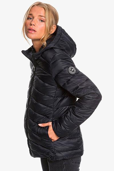 Куртка женская Roxy Coast Road Hood Anthracite