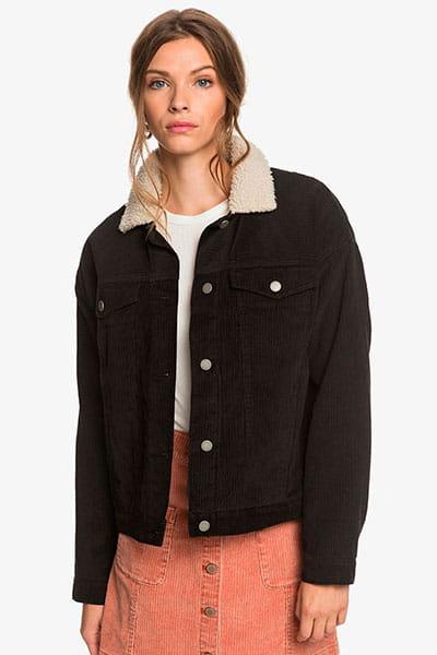 Куртка джинсовая женская Roxy Good Fortune Anthracite
