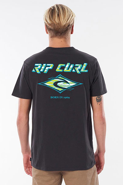 Футболка Rip Curl Fadeout Tee Washed Black-11