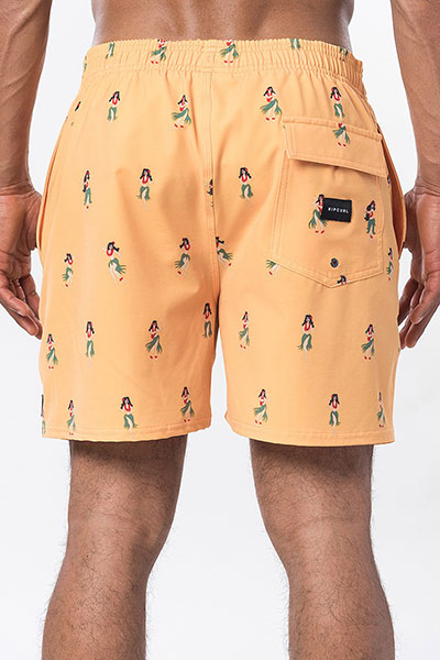 Бордшорты Rip Curl Tropical Vibes Volley Washed Yellow