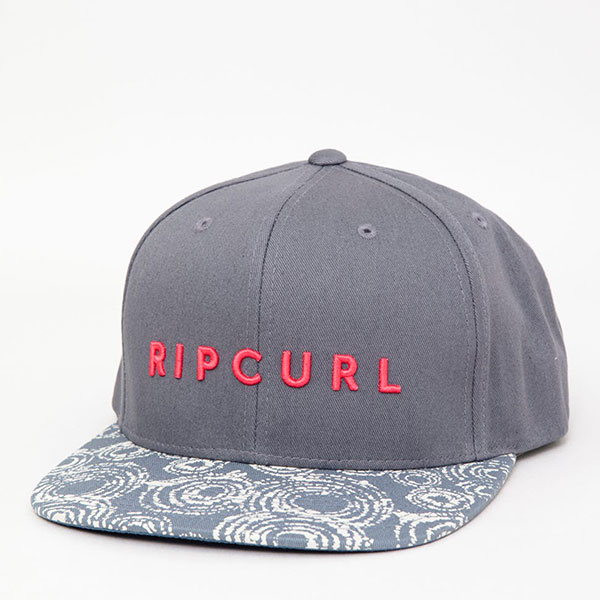 Бейсболка Rip Curl Golden Road Snapback Charcoal