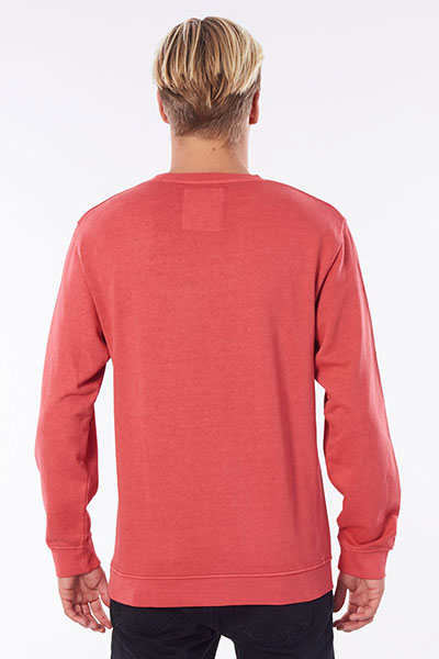 Толстовка Rip Curl Original Surfers Crew Washed Red