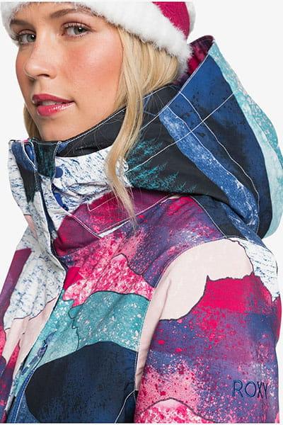 Куртка сноубордическая женская  Roxy Jetty Jk Snjt Bright White Annecy