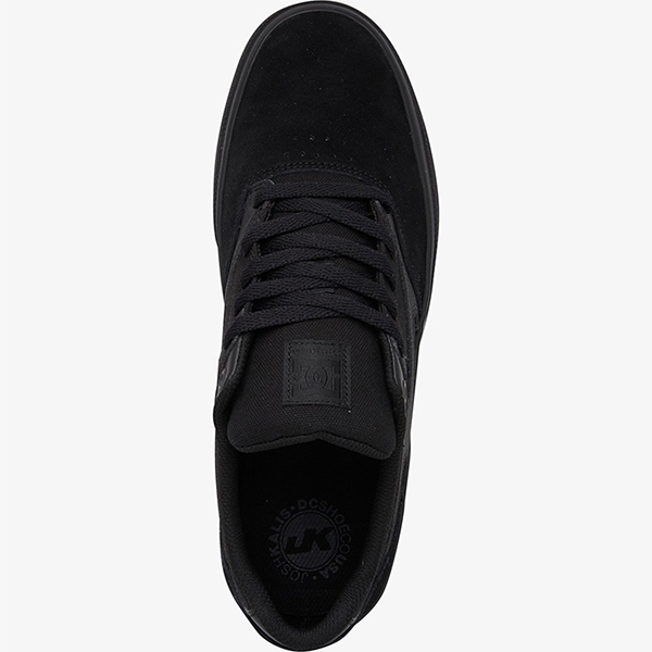 Кеды DC Shoes Kalis Vulc Black/Black/Black