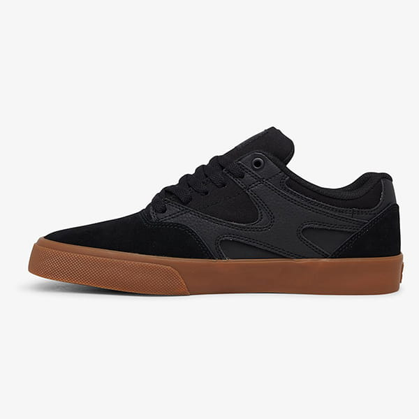 Кеды DC Shoes Kalis Vulc Black/Black/Gum