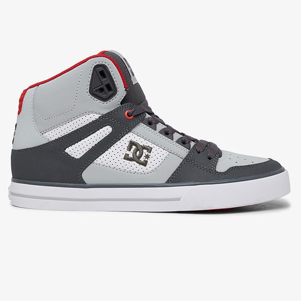 Кеды DC Shoes Pure Xsrw Grey/Red/White
