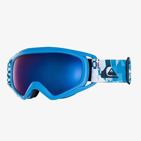 Маска для сноуборда детская QUIKSILVER Eagle Brilliant Blue Check