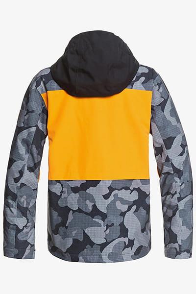 Куртка детская QUIKSILVER Groomer True Black Wichita