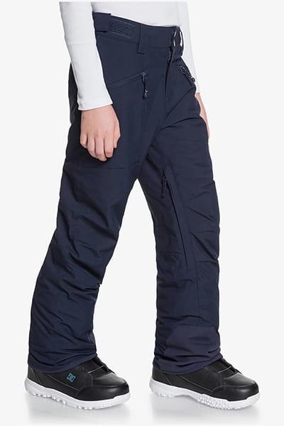 Штаны сноубордические детские QUIKSILVER Boundry Navy Blazer