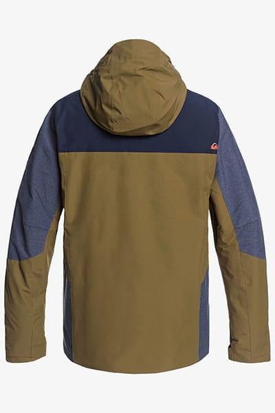 Куртка сноубордическая QUIKSILVER Mission Plus Military Olive